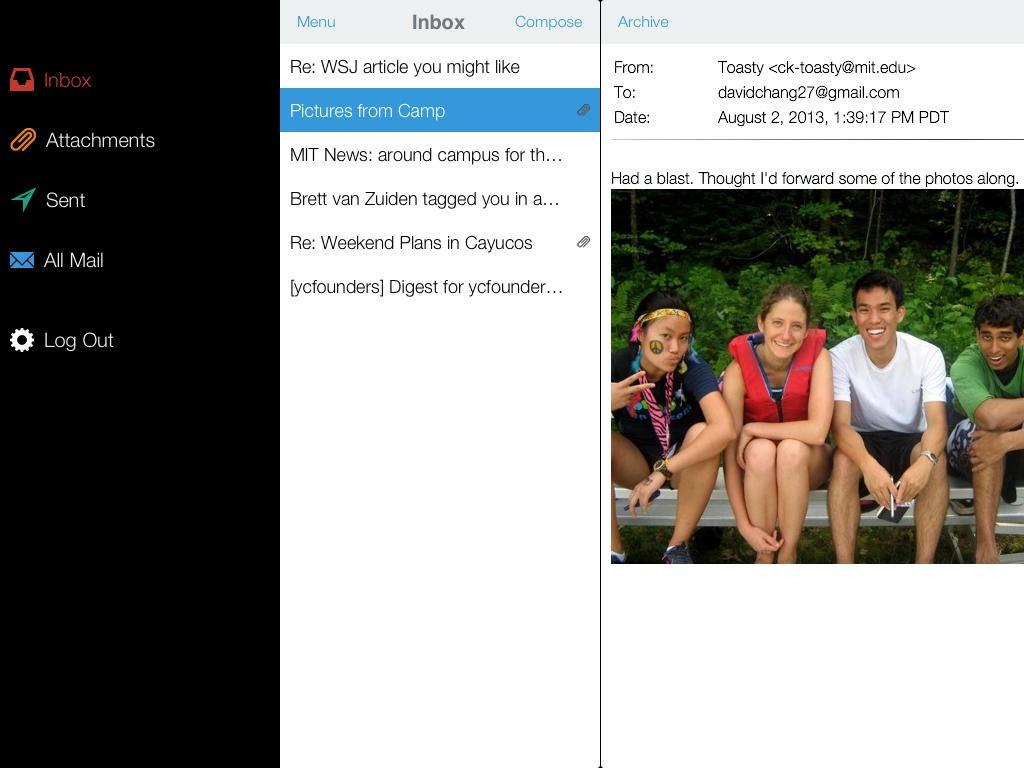 [开源APP推荐] ThatInbox – iOS平台上免费开源的Email 客户端