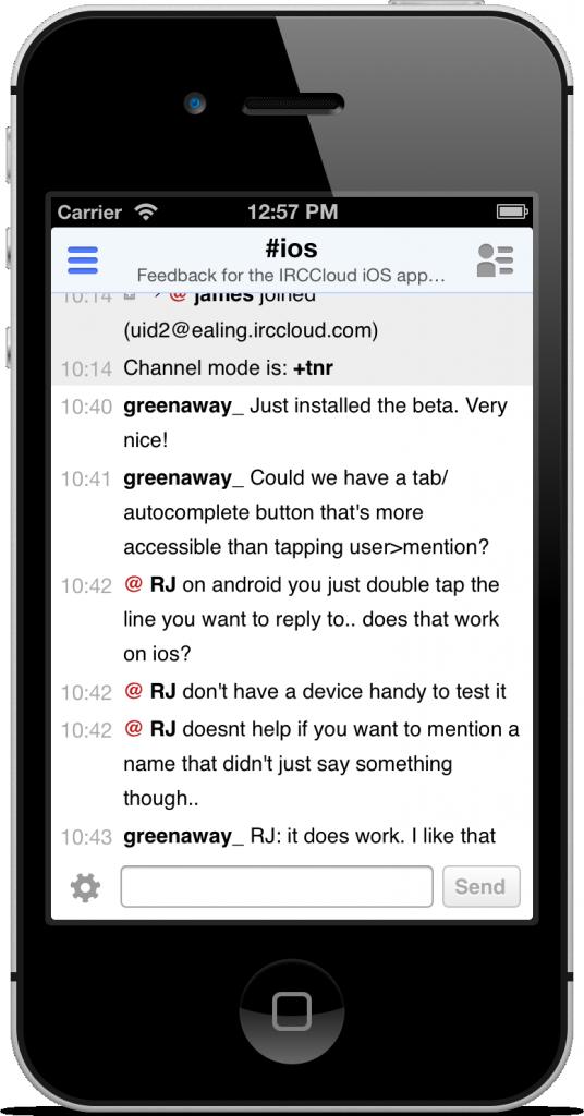 [开源APP推荐] IRCCloud – IRC聊天工具