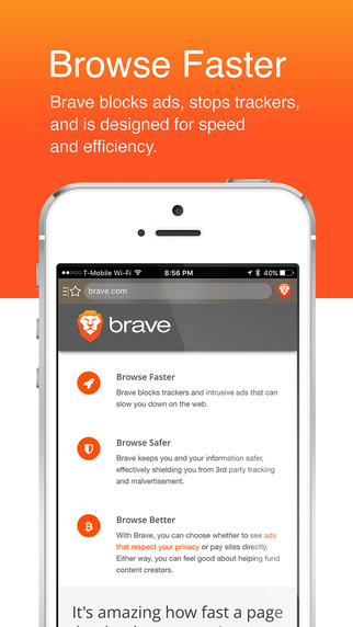 [开源APP推荐] Brave iOS Browser – Web浏览器