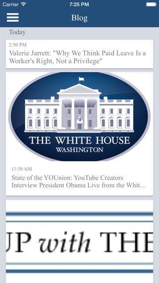 [开源APP推荐] The White House – 美国白宫(WhiteHouse)的官方app