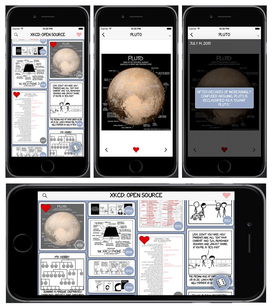 [开源APP推荐] xkcd comic reader for iOS