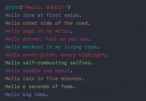 苹果WWDC宣传图暗藏神秘讯息?