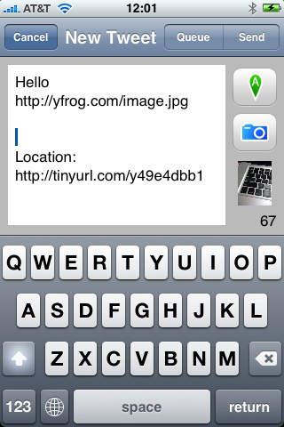 [开源APP推荐] Tweetero – 带图片上传功能的twitter客户端