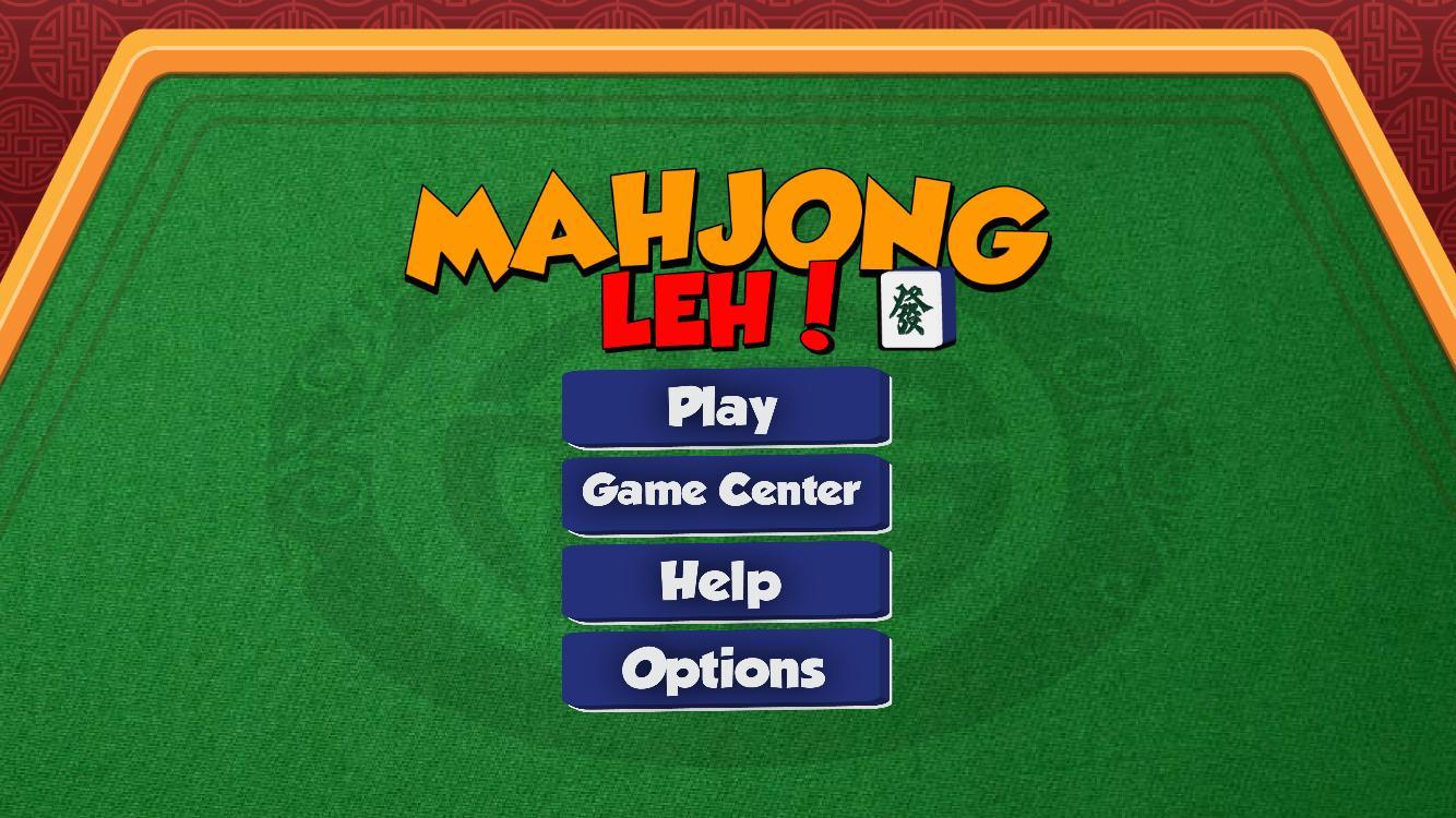 [开源游戏] MahjongLeh – 新加坡麻将