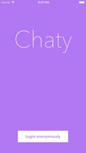 [开源APP推荐] Chaty – 匿名聊天App
