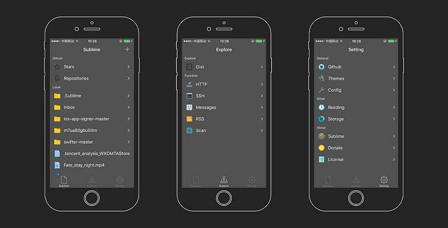 [开源APP推荐] SublimeCode – 一个iOS下的代码阅读应用
