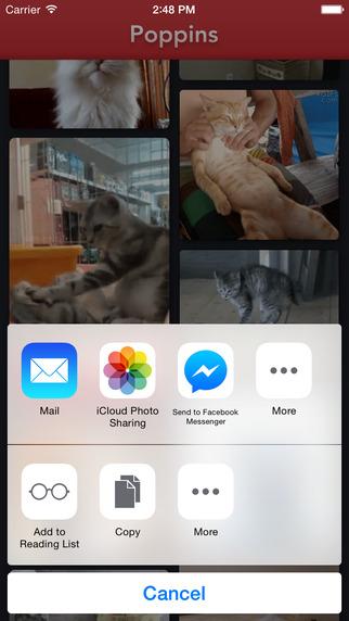 [开源App推荐] Poppins – 收集并分享GIF的iOS客户端