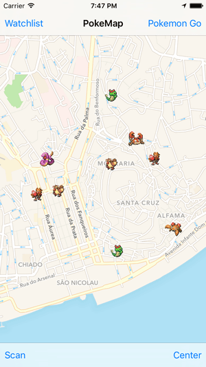 [开源APP推荐] PokeMap – A companion app for Pokemon Go