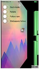 [开源游戏] Metal-Flaps – 用Metal和swift开发的Flappy bird