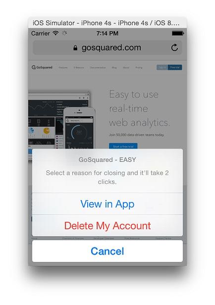 [开源APP推荐] JustDeleteMe – iOS App for JustDeleteMe