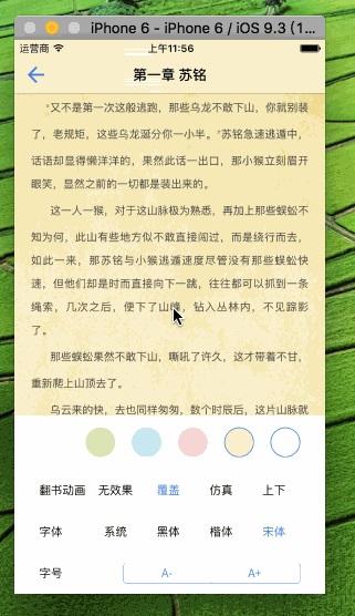 [开源APP推荐] DZMeBookRead – 最完整小说阅读器Demo