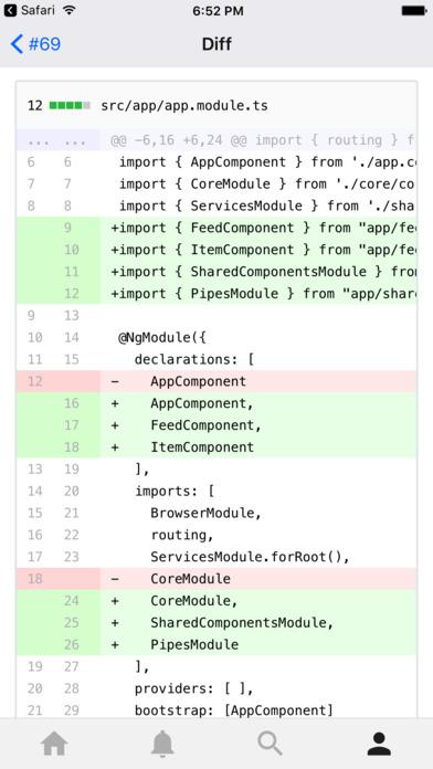 [开源APP推荐] GitPoint – GitHub for iOS